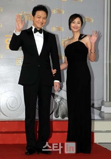 Jung Woong In & Jeon Mi Sun