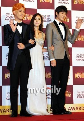 Park Ki Woong, Han Chae Ah & Joo Won
