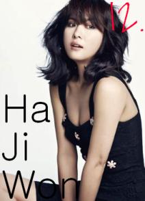 12. Ha Ji Won