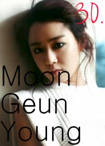 30. Moon Geun Young