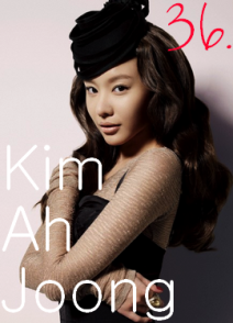 36. Kim Ah Joong