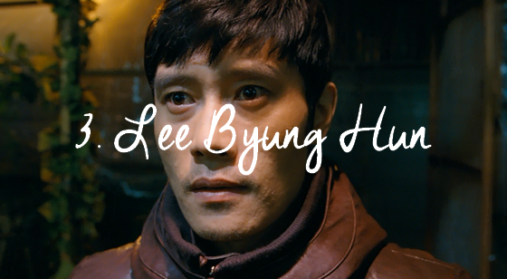 3. Lee Byung Hun
