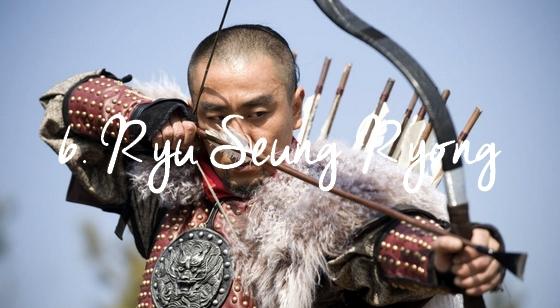 6. Ryu Seung Ryong