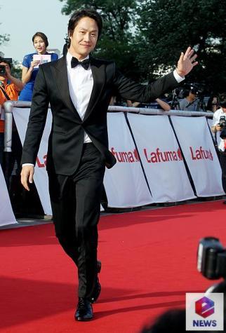 Jung Woo - najlepszy nowy aktor w kat. telewizyjnej
