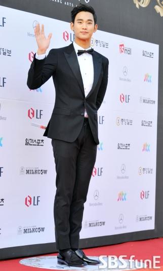 Kim Soo Hyun - zdobywca 3 nagród