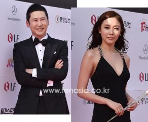 prowadzący Shin Dong Yeob i Kim Ah Joong