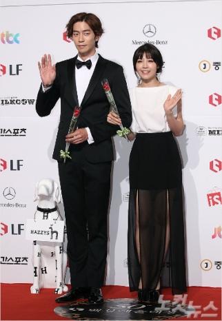 Shin Sung Rok i Eunji z A Pink