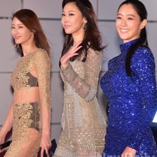 Clara oraz modelki Lee Hyun Yi & Han Hye Jin