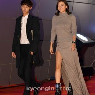 Jung Jun Young & modelka Jang Yoon Joo