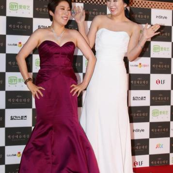 Kim Young Hee i Heo Anna