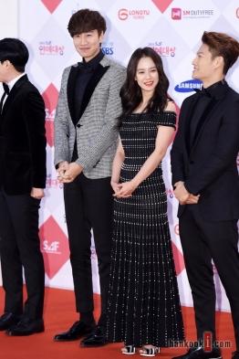Lee Kwang Soo, Song Ji Hyo & Kim Jong Kook