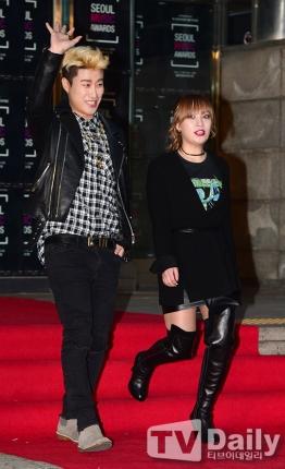 San-E & Kang Min Hee