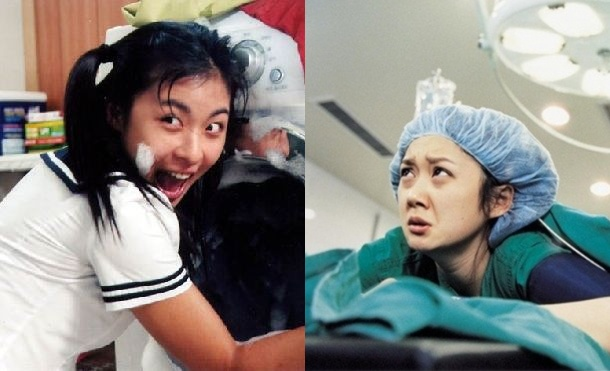 "Ha Ji Won w ""100 Days With Mr. Arrogant""   Jang Nara w ""Oh! Happy Day"""