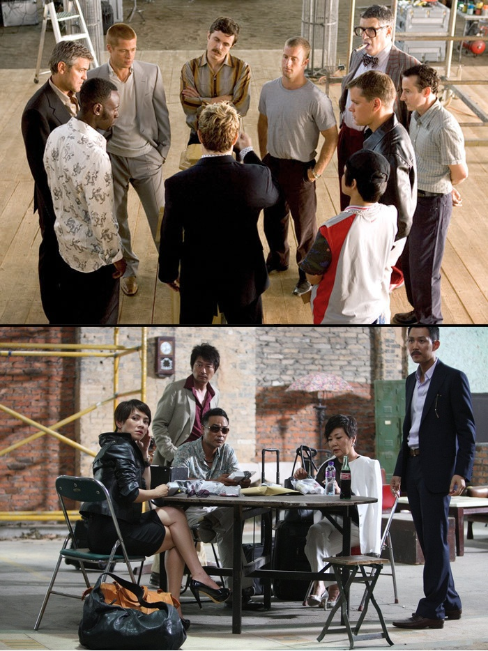 Ocean's Eleven vs The Thieves