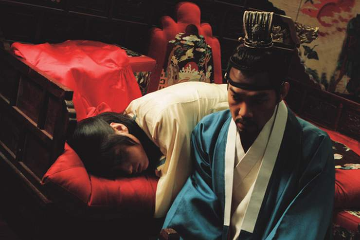 "Lee Jun Ki i Jung Jin Young w ""The King and the Clown"" (2006)"
