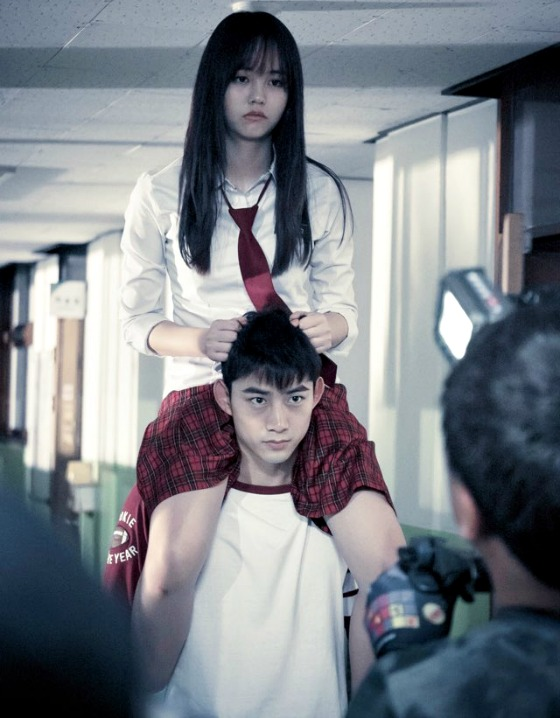 "Kim So Hyun i Taecyeon w ""Bring It On, Ghost!"""
