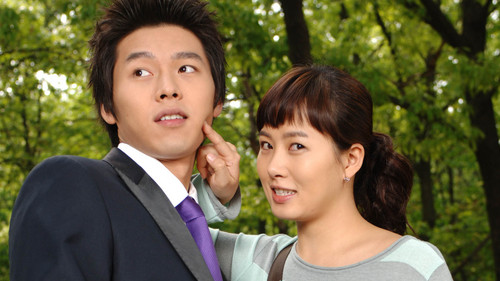 "Hyun Bin i Kim Sun Ah w ""My Name is Kim Sam Soon"""