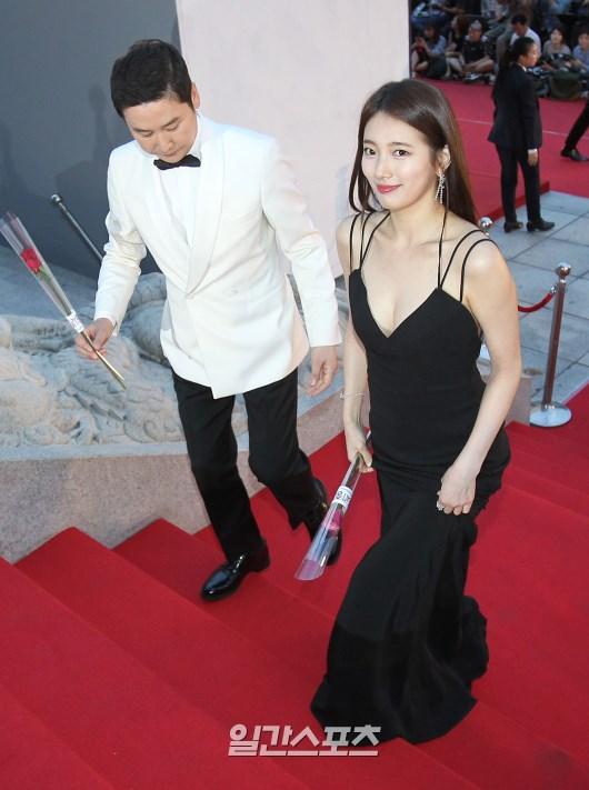 Shin Dong Yeob & Suzy