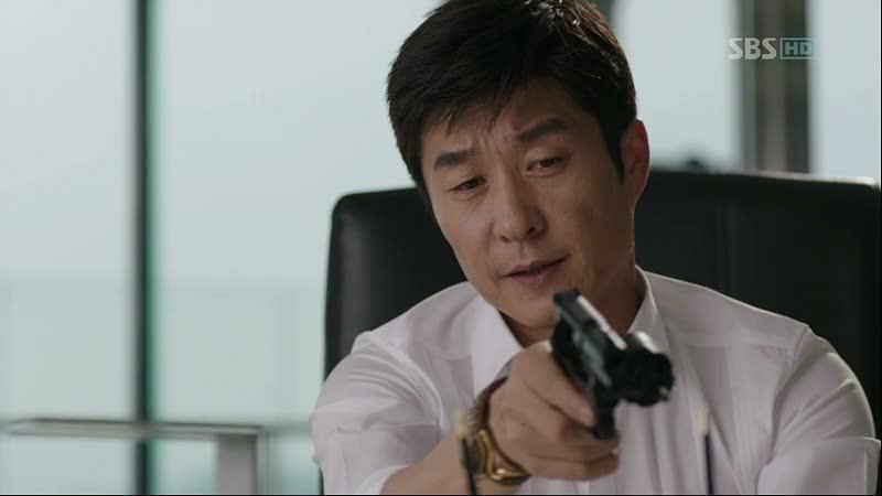 """Kim Sang Joong w """"City Hunter"""""""