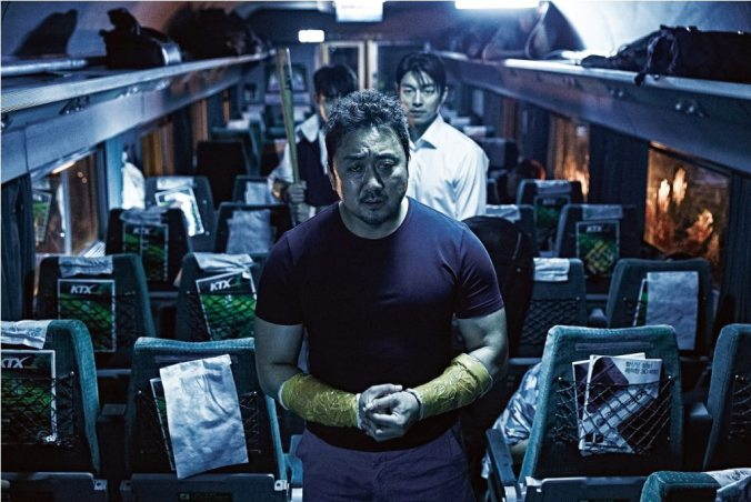 "Ma Dong Seok w ""Train to Busan"""