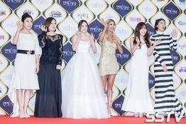 ekipa Unni's Slam Dunk - Ra Mi Ran, Kim Sook, Min Hyo Rin, Jessi, Tiffany, Hong Jin Kyung