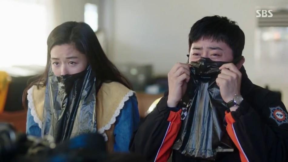 "Jo Jung Seok obok Jeon Ji Hyun w ""Legend of the Blue Sea"""