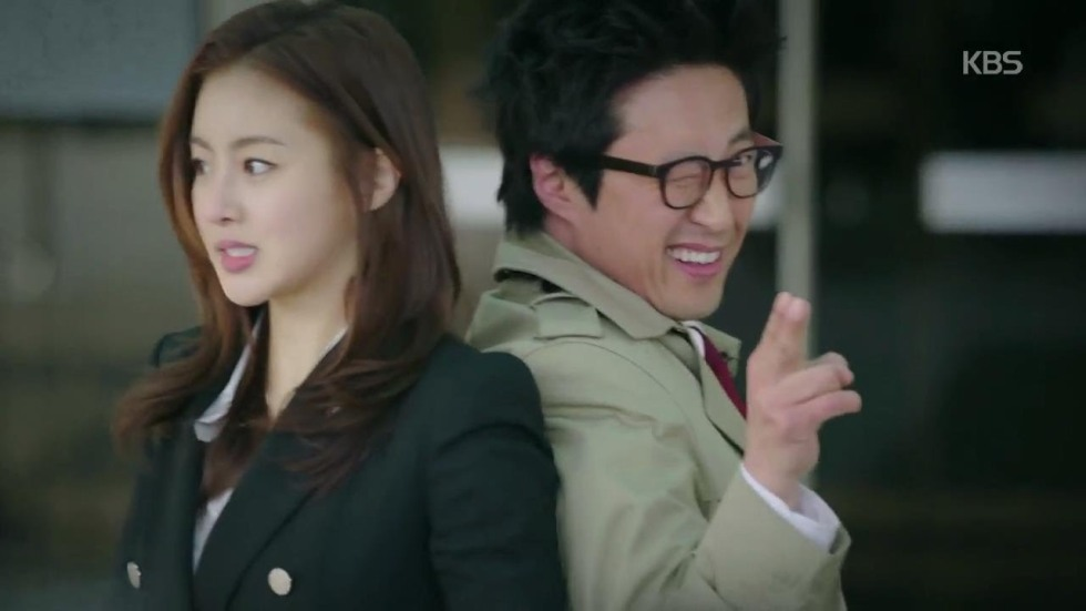 "Kang Sora i Park Shin Yang w ""Neighborhood Lawyer Jo Deul Ho"""