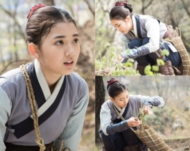 "Jung Da Bin w ""The Flower in Prison"""