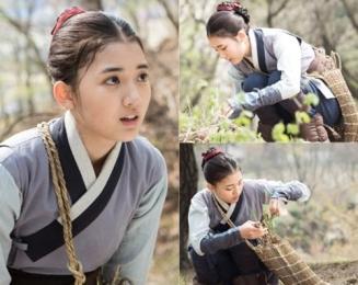 "Jung Da Bin w ""The Flower in Prison"""