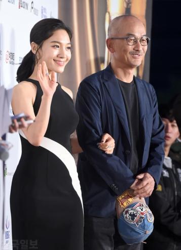 Choi Hee Seo & reżyser Lee Jun Ik