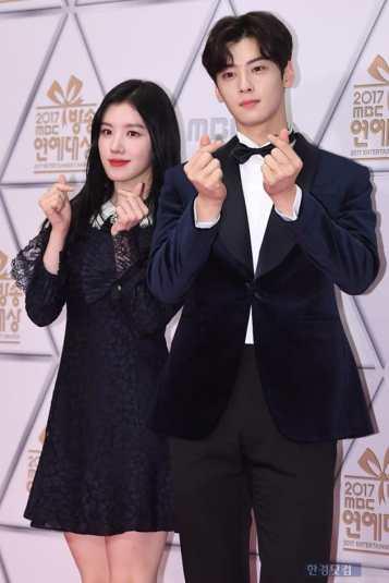 Cha Eun Woo & Xiyeon