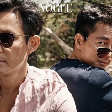 Lee Jung Jae & Jung Woo Sung (1973, 46 lat)